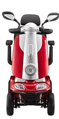 KYMCO Elektro 4-Rad-Scooter POEL ForU Rot 12 km/h