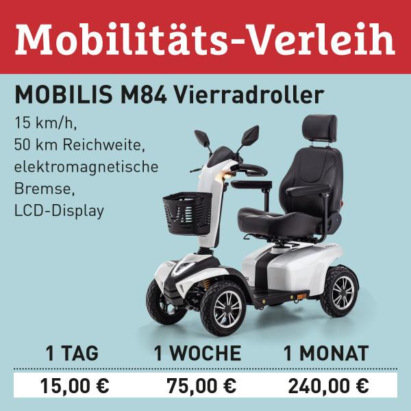 LEBENSFREUDE BY HOMANN Verleih Elektro-Scooter M84