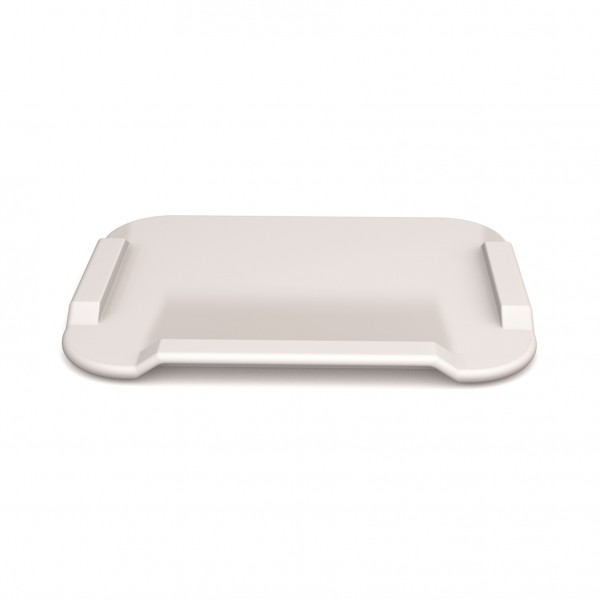 ORNAMIN Essbrettchen 22x17 cm weiß