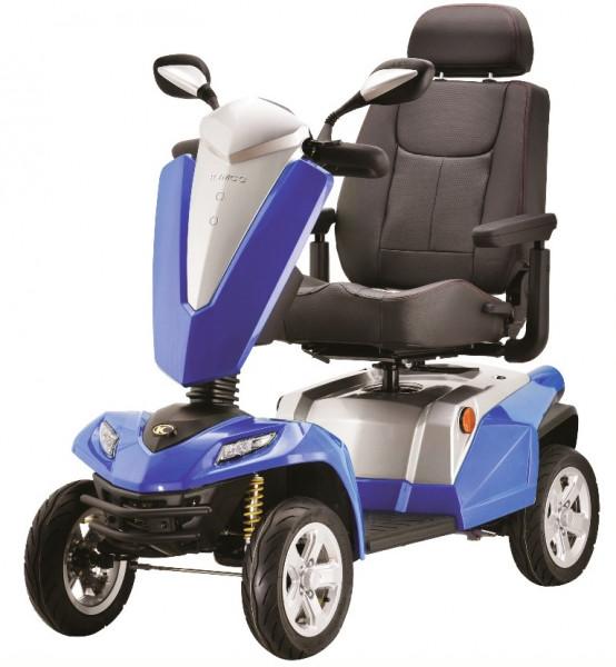 KYMCO TEXEL 4-Rad-Scooter Blau 15 km/h