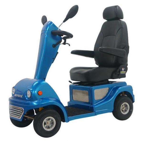 SHOPRIDER 4-Rad-Scooter CAPRAIA Blau 10 km/h
