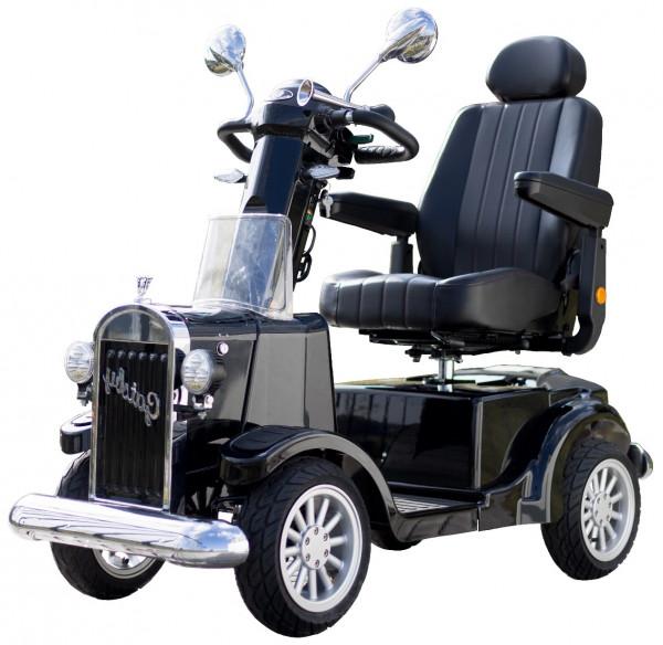 VINTAGE MOBILITY 4-Rad-Scooter GATSBY Schwarz 15 km/h 75 Ah