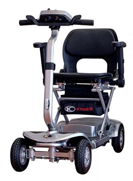 KYMCO K-Lite FE Elektro-Falt-Scooter 6 km/h Silber