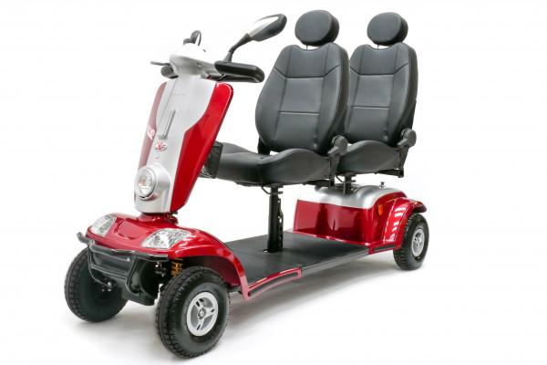 KYMCO TANDEM 2-Personen 4-Rad-Scooter 12 km/h